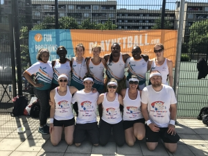 Playnetball.com umpires at our summer tournament